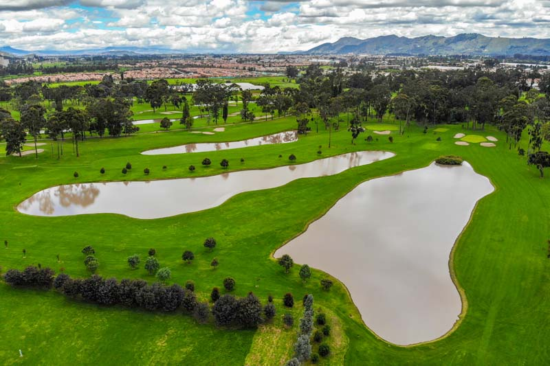 Playing Golf in Colombia