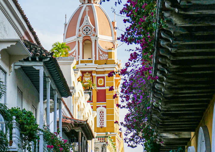Two towns in Colombia